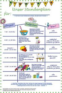 Tagesplan für Familien