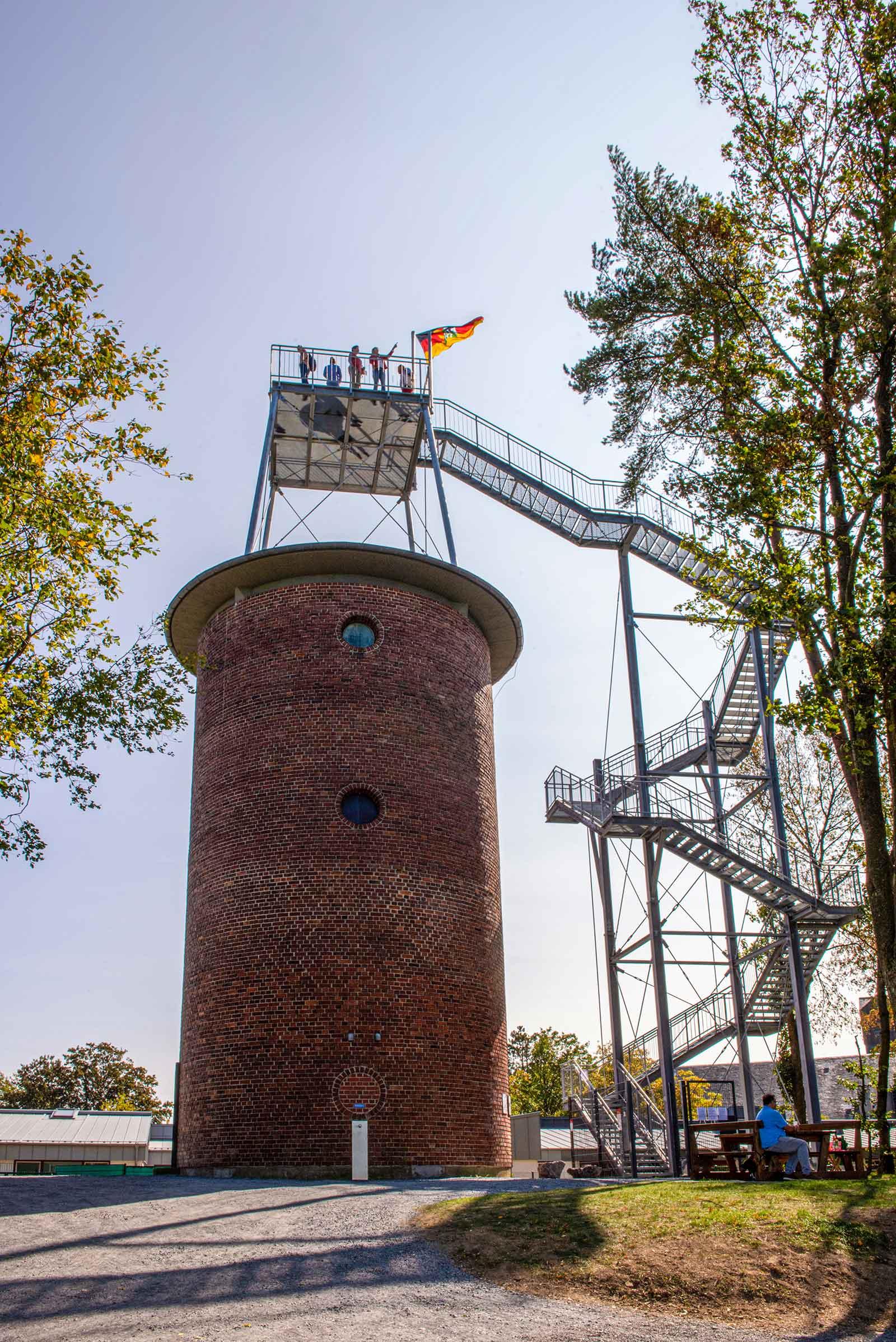 Wasserturm mit Aussichtsplattform in Kurtscheid